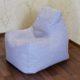 Pastelne mööbliriie kott-tool koju