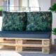 Istumis- ning seljatoepadjad euroalustest aiamööblile