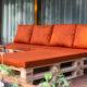 Istumis- ning seljatoepatjad euroalustest aiamööblile