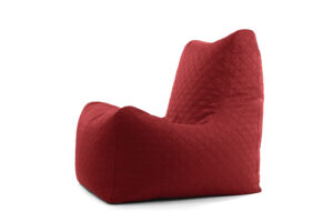 Pehme kott-tool tugitool Royal Style Premium Punane 420L