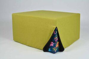 Kokkuklapitav tumba-madrats Emma värviline kvaliteetne